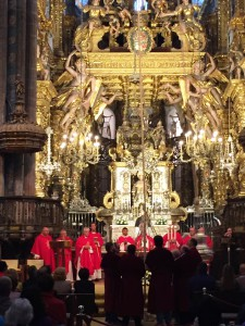 S.Messa alla Cattedrale di Santiago